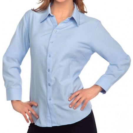 Camisa Oxford Mujer ML